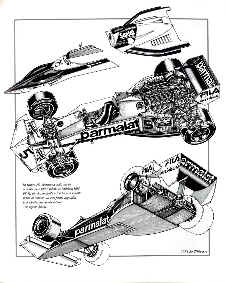 brabham bt52 illustrated