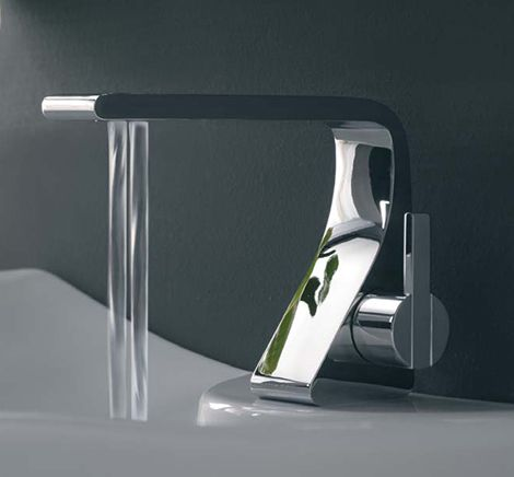 Bathroom Faucet From Zazzeri New Rem Has Two Water Streams