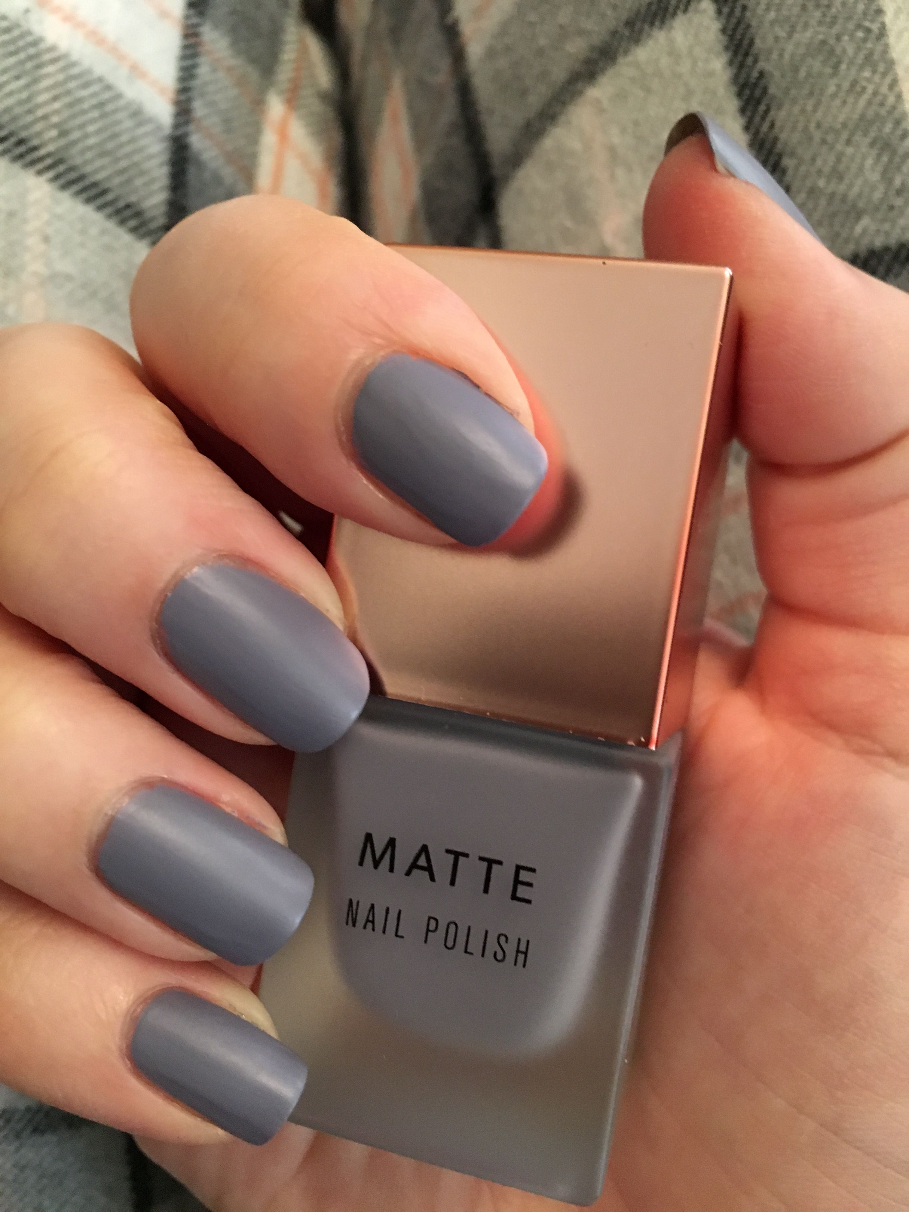 New Look Matte Polish- Misty Grey | nail polish | Pinterest