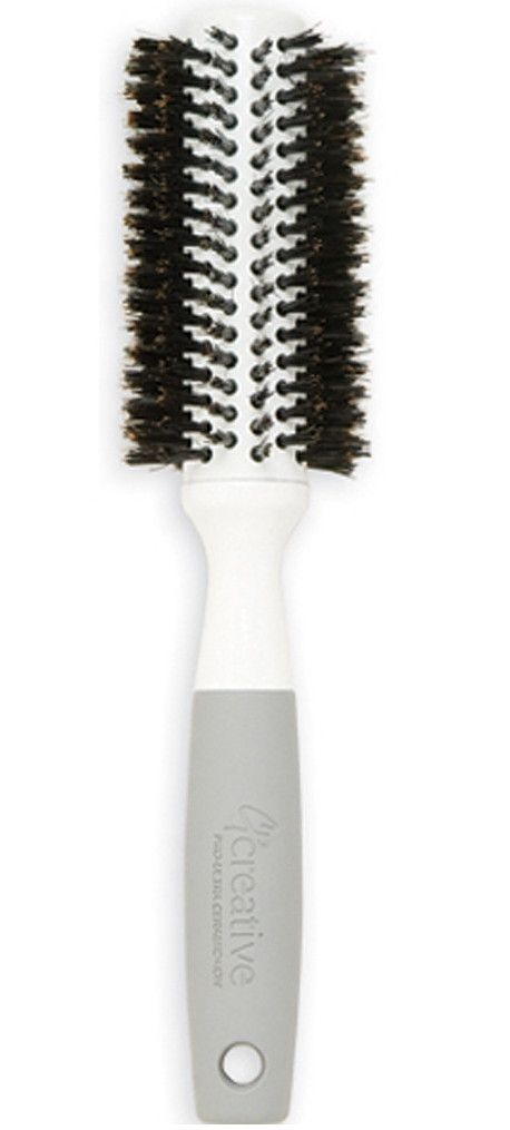 Solid Barrel Brush 1 75 Cr102 Me Boar Bristle Brushes With Snag Free Design Are Great For Blow Drying The Thermal Boar Bristle Brush Ceramic Coating Brush