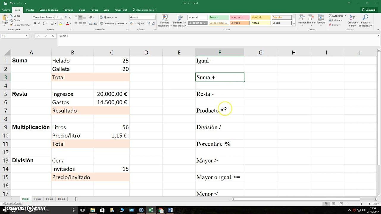 Pin En Excel Hojas De Cálculo Spreadsheets Excel Y Otras
