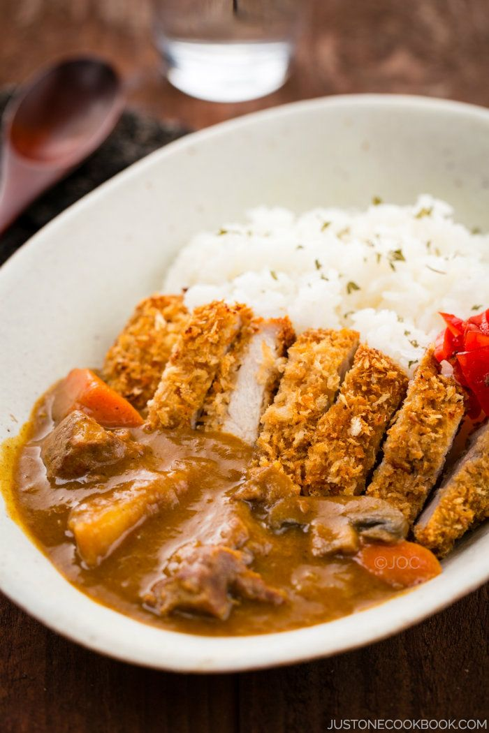 Katsu Curry カツカレー Just One Cookbook Recipe Easy Japanese Recipes Curry Recipes Food