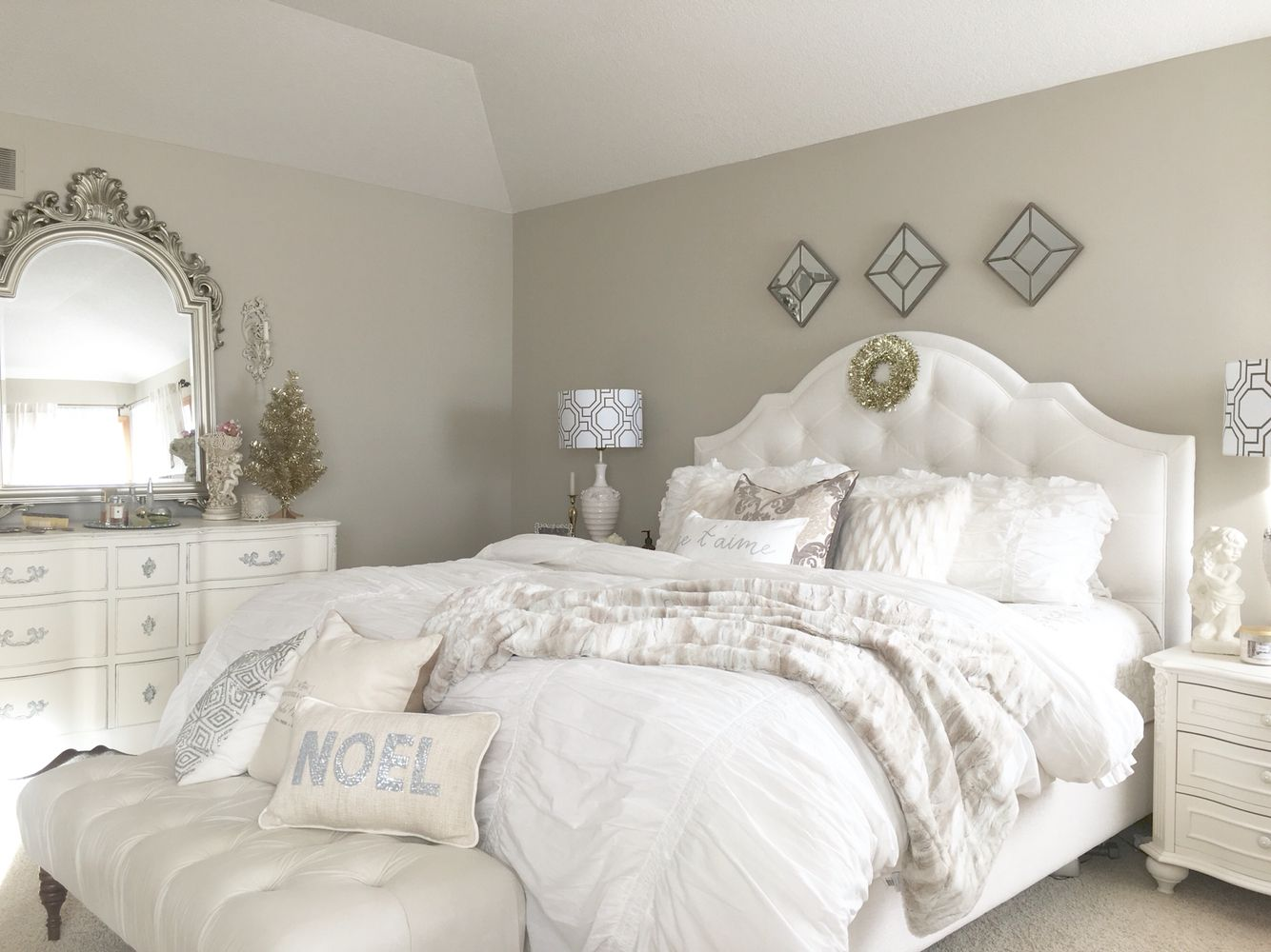 Best Holiday Decor In Masterbedroom French Country Glam 400 x 300