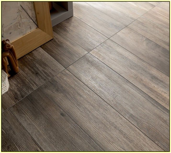 Grey Wood Grain Ceramic Tile Interior