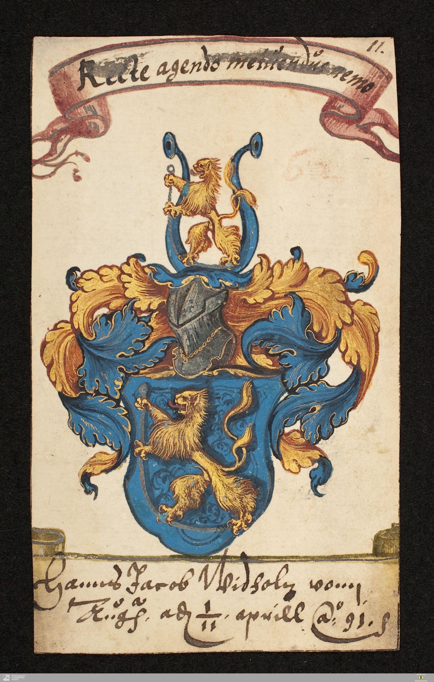 Stammbuch Daniel Prasch - Cod.Don.898 Paralleltitel Stammbuch Daniel Prasch - Cod.Don.898 Erscheinungsort Hofgastein Augsburg Schladming [u.a.] Erscheinungsjahr [1583 – 1629 (1559. 1576. 1632. 1678)] Besitzer des Digitalisats Württembergische Landesbibliothek URN urn:nbn:de:bsz:24-digibib-bsz4204126700 Persistente URL http://digital.wlb-stuttgart.de/purl/bsz420412670