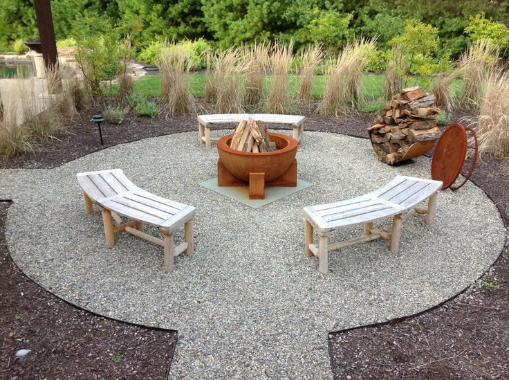 Image Result For Colored Gravel Patio Designs Backyards