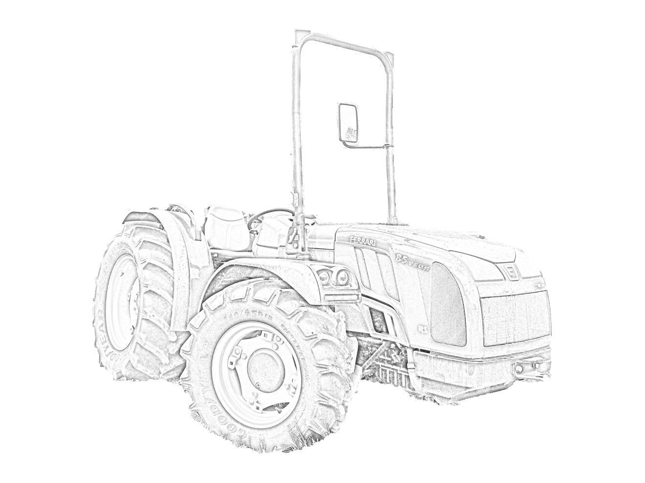 Ausmalbilder Traktor Deutz : Trattore Ferrari Vega 85 Rs Da Colorare Http Tantitrattori 96 Lt