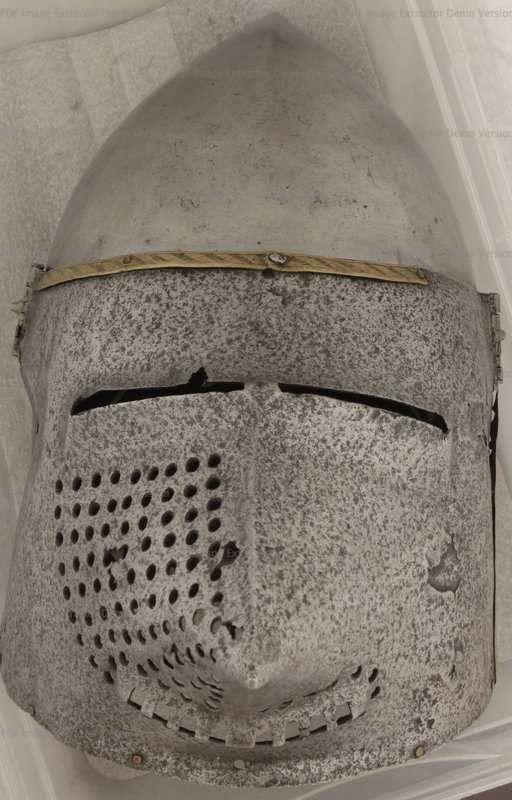 Bascinet, Deutsches Historisches Museum, Berlin 1380-1400 ref_arm_1500_002