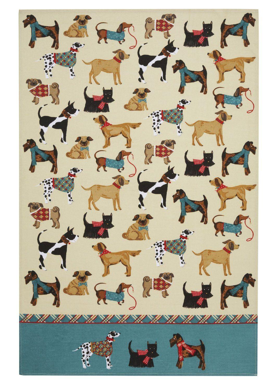 dogs handtowel