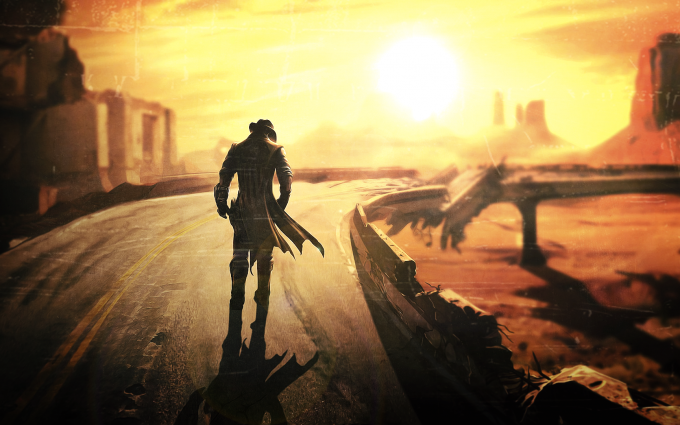 Fallout New Vegas A2 Hd Desktop Wallpapers 4k Hd Fallout Wallpaper Fallout New Vegas Desktop Wallpaper Art
