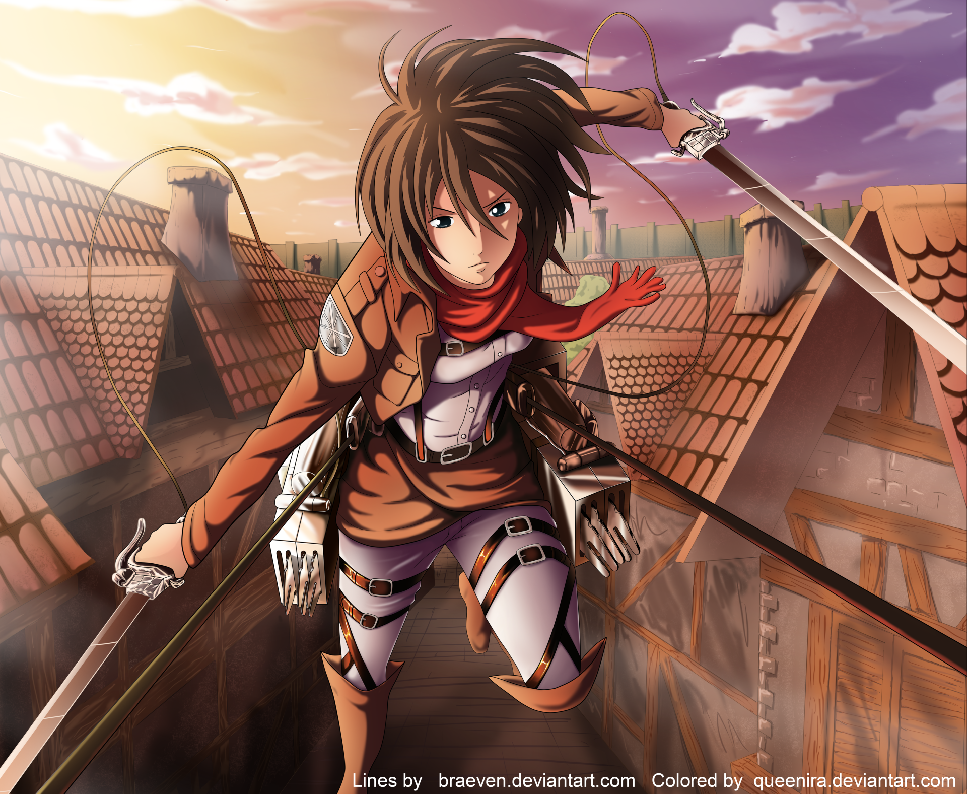 Anime Attack On Titan Shingeki No Kyojin Mikasa Ackerman Wallpaper Attack On Titan Attack On Titan Anime Cute Anime Character