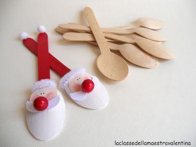 La classe della maestra valentina cucchiaini segnaposto for Lavoretti di natale maestra gemma