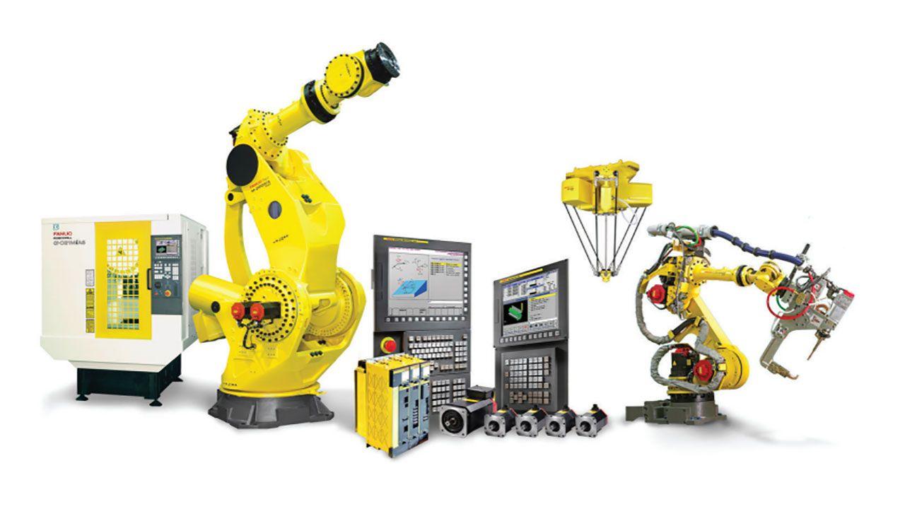 FANUC Robotics | Robot | Fanuc robotics, Robot factory, Robotic