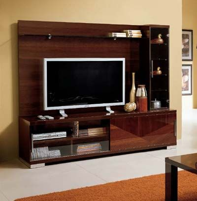 flat screen entertainment wall units | alf capri wall unit brown