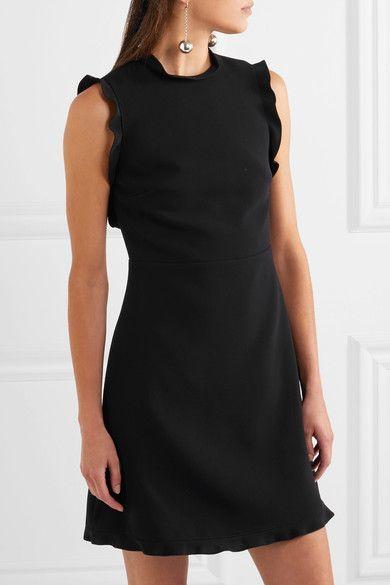 1693cc77d68 Miu Miu - Open-back Cady Mini Dress - Black