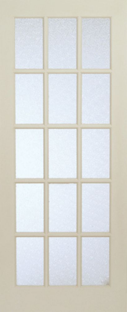 Interior 15 Lite French Door Primed With Martele Privacy Glass 32 Inches X 80 Inches Front Doors French Doors Patio Sliding French Doors French Doors