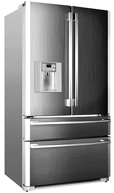 American Style Fridge Freezer Freezers Drawer Design News E French