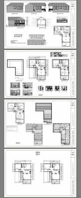 Details about 16x32 House -- 767 sq ft -- PDF Floor Plan ...