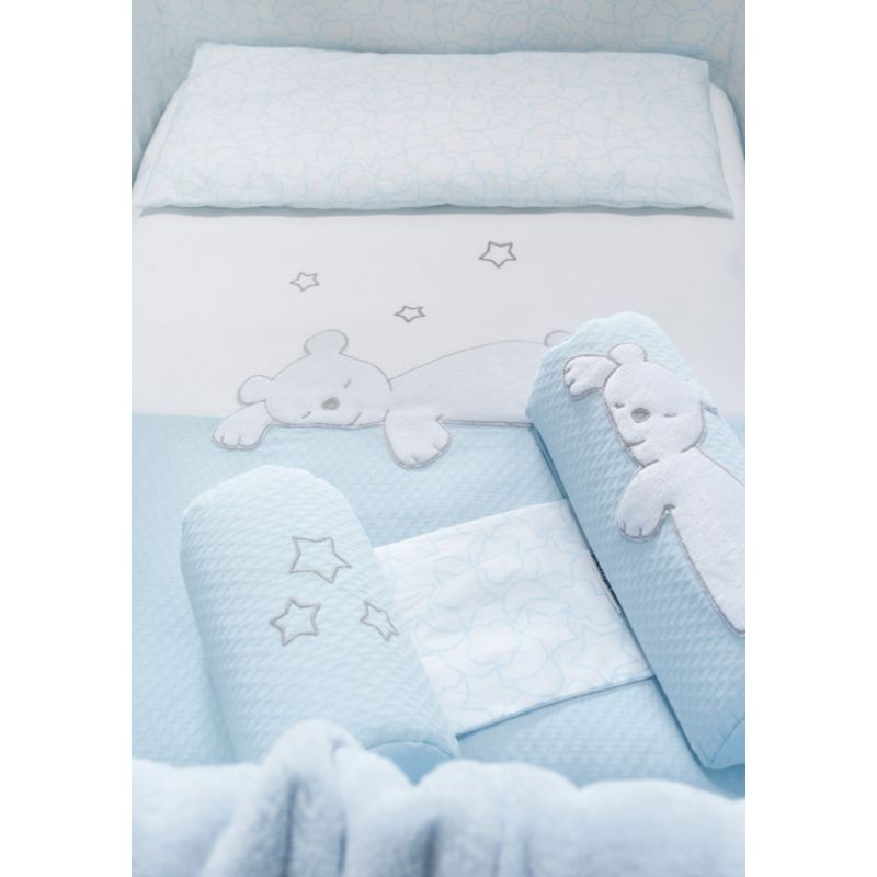 Colcha minicuna Dream gris