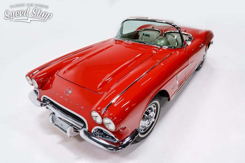 1962 Chevrolet Corvette By Classic Car Studio Shop Performance Of