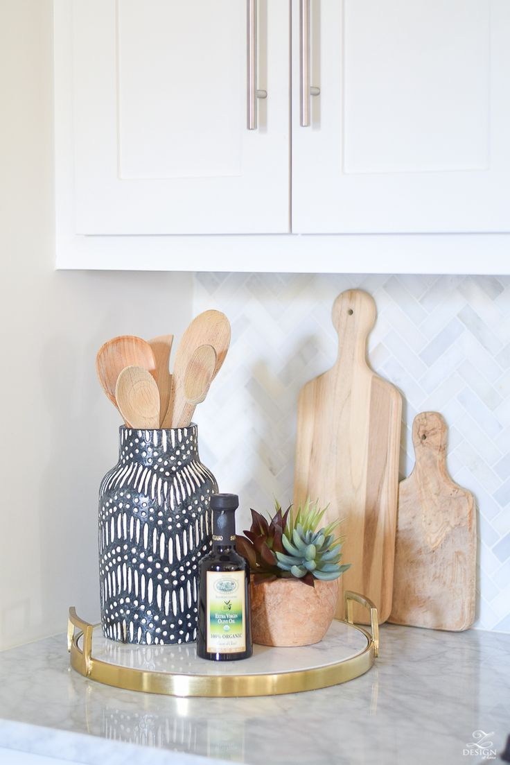 9 Simple Tips For Styling Your Kitchen Counters Kitchen Counter