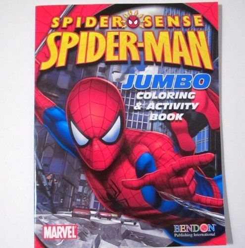 Spider Man Spider Sense Jumbo Coloring Activity Book Price 6 25 Http Www Hadburyhouse Com Spider Man Spide Spiderman Color Activities Ultimate Spiderman