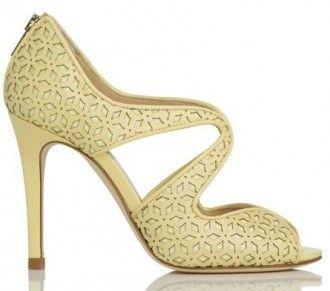 Pastel Yellow High Heels