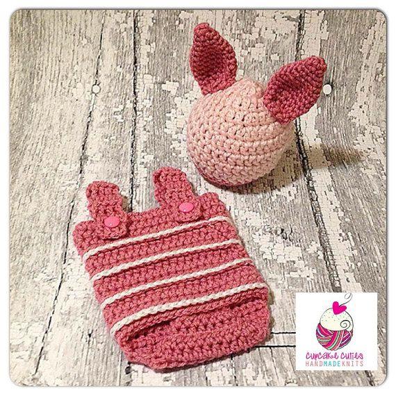 93f718582 INSTANT DOWNLOAD Pattern Little Piglet Romper by CupCakeCutiesshop, $6.99