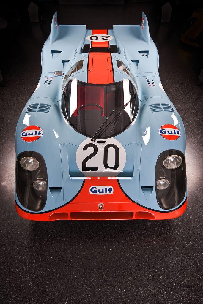 Porsche gulf 917 nice rides pinterest voitures le mans et mans - Garage volkswagen le mans ...