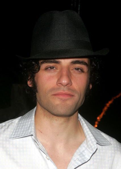 "Oscar Isaac at after-party for Shakespeare in the Park's ""Two Gentlemen of Verona"" in New York City, NY (August 25, 2005) / Photo by Peter Kramer"