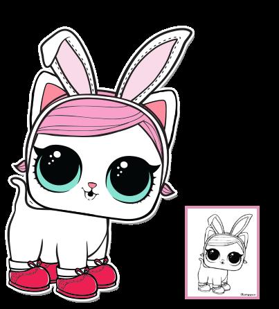 LOL Surprise Doll Coloring Pages – Page 3 – Color your favorite LOL ...