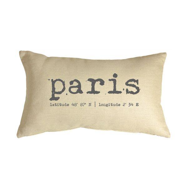 Pillow Decor Paris Coordinates 40x40 Throw Pillow 40 CAD Liked Mesmerizing Pillow Decor Ltd