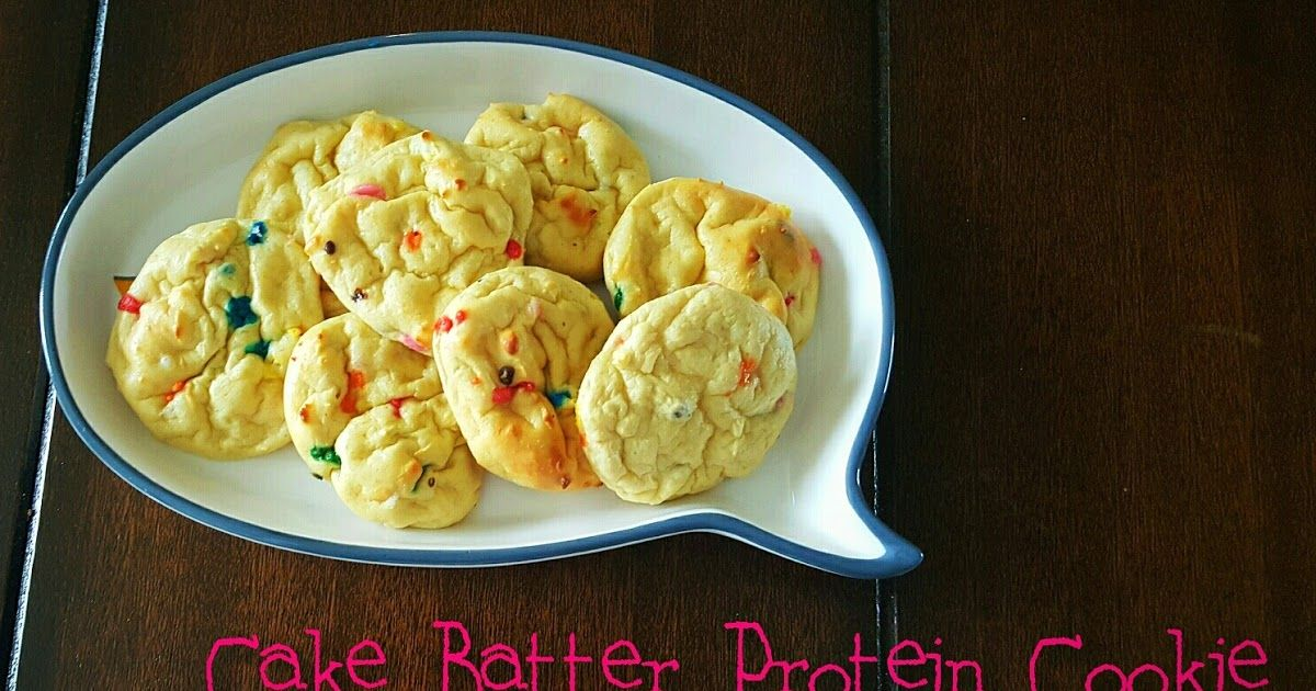 Cake batter protein cookie cake batter protein protein