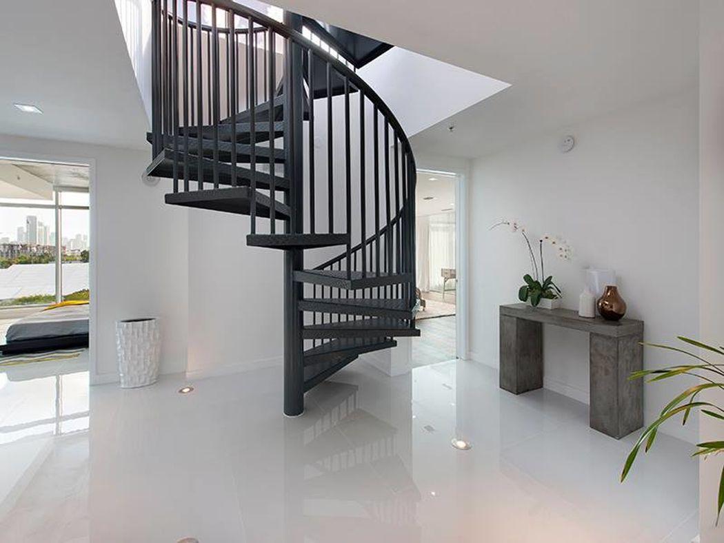 escalier interieur duplex