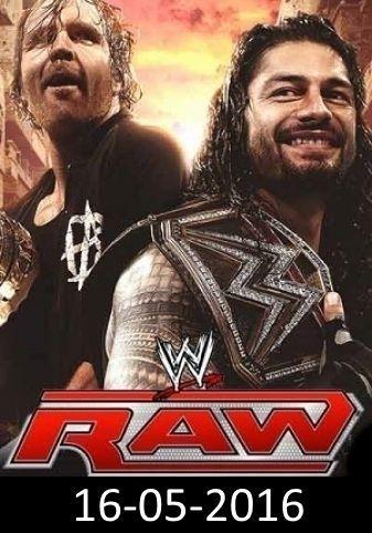 WWE Raw 16-05-2016
