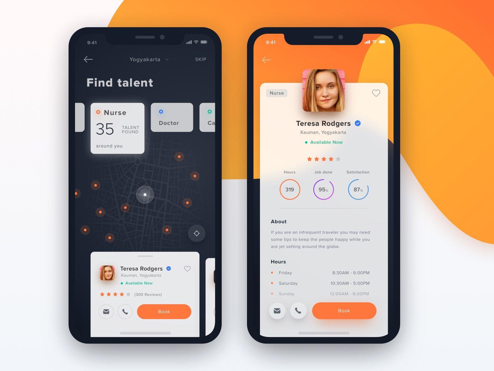 Dribbble 2x 1x Mobile App Inspiration Ios App Design App Design