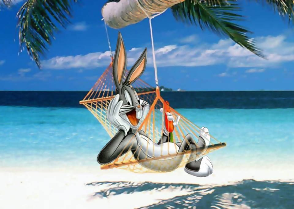 Image result for bugs bunny hammock