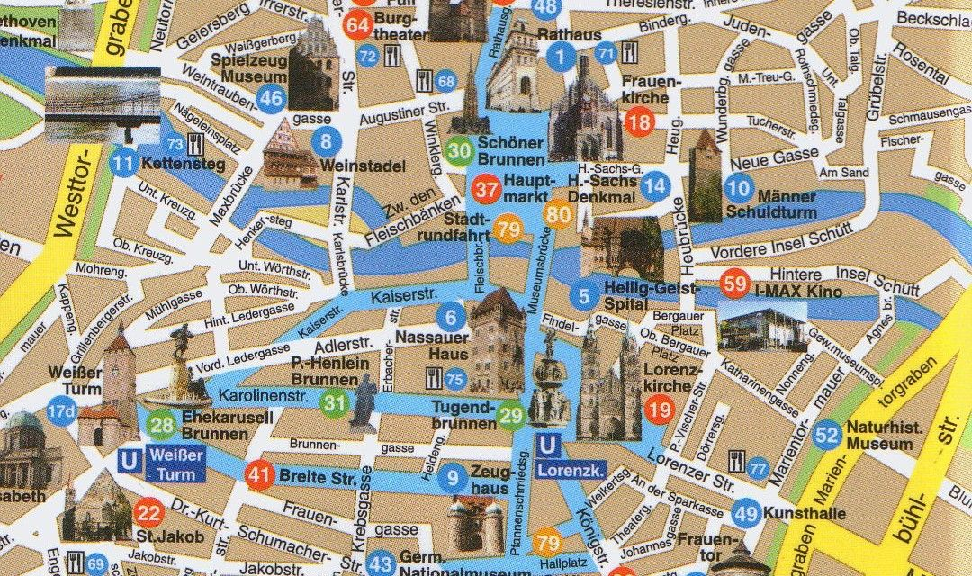 Map Of Germany Nuremberg.Nuremberg City Map Germany City Map Germany
