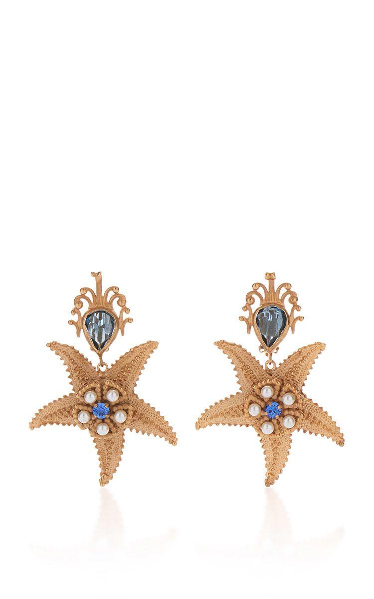 Starfish Earrings by DOLCE & GABBANA for Preorder on Moda Operandi