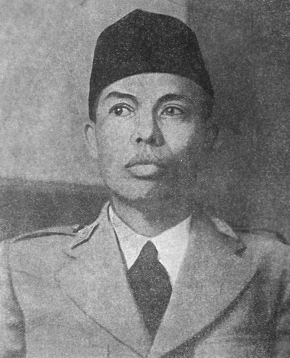 Gambar Pahlawan Indonesia Hitam Putih