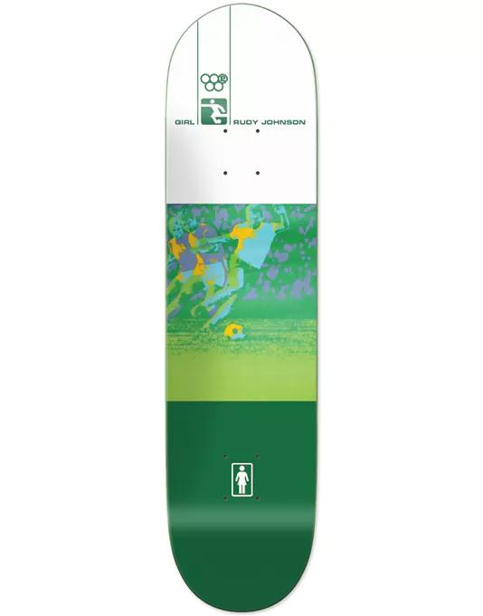 Girl Rudy Olympic Futbol Reissue Skateboard Deck 8 Ing