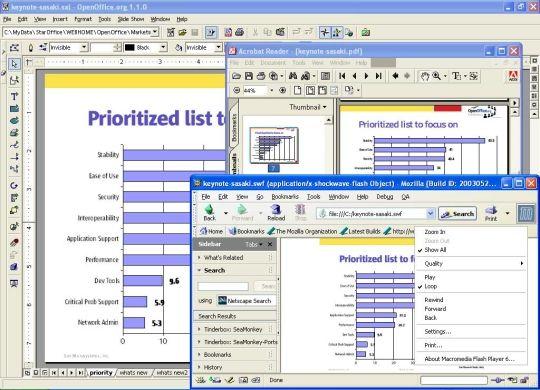 OpenOfficeorg2GoogleDocs - export  import to Google Docs, Zoho - open office spreadsheet