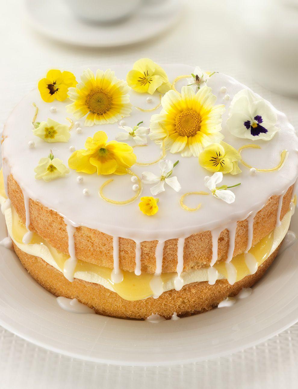 Sainsbury S Gin And Lemon Cake Recipe