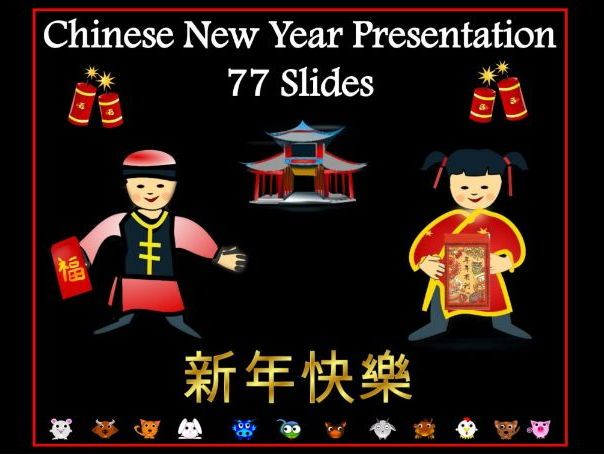 Chinese New Year Assembly / Lesson Presentation 2018 | Teaching