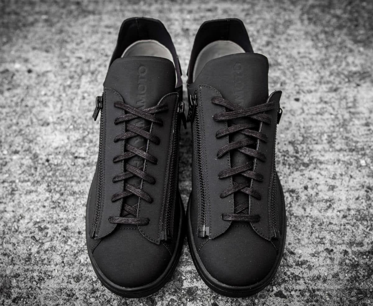 9b2b44295f5ce Adidas Y3 Stan Zip Triple Black Release Date Front