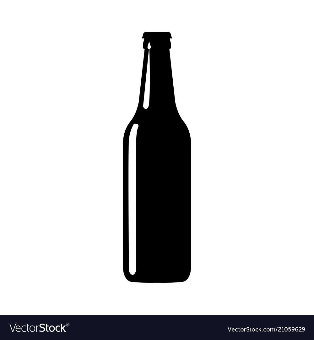 Beer Bottle Silhouette Bottle Beer Bottle Beer