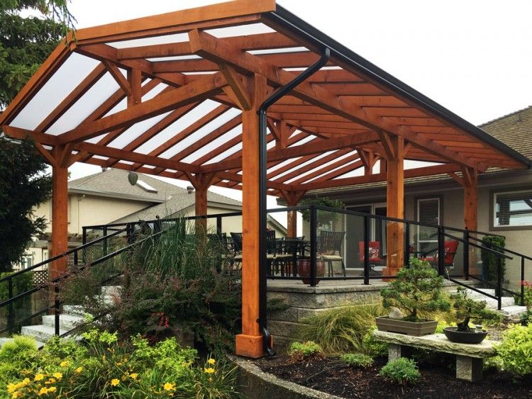 Pergola Sun Shade Lumon Patio Cover Wood Frame Covers In Vancouver Pergolas