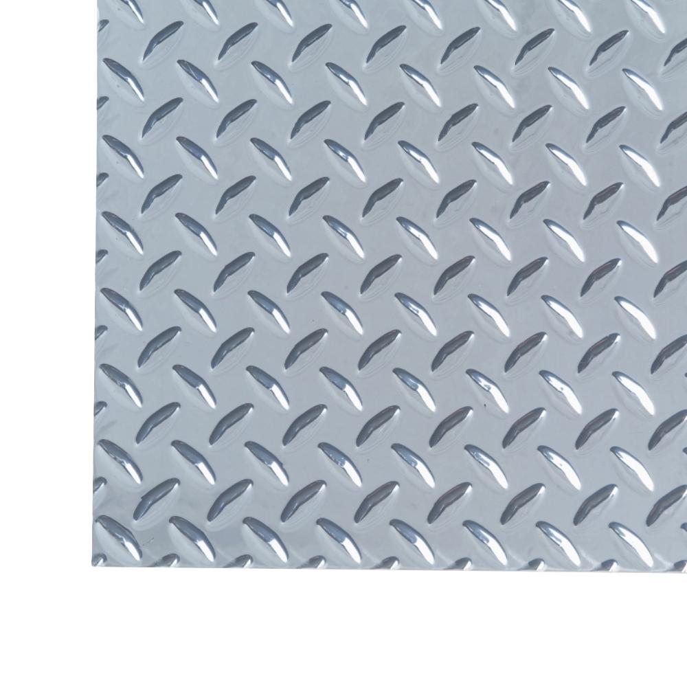 M D Building Products 3 Ft X 3 Ft Diamond Tread Aluminum Sheet Heavy Weight 57567 The Home Depot Aluminum Sheet Metal M D Building Products Aluminium Sheet