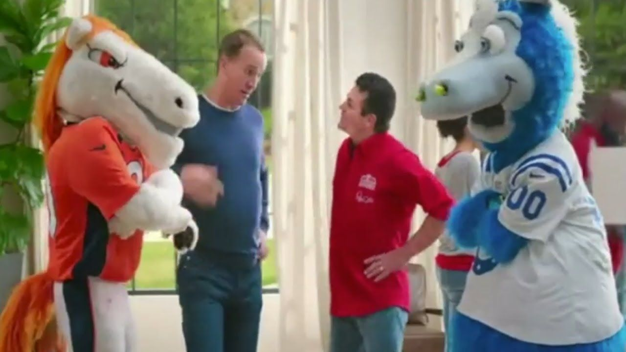 Papa Johns Commercial 2017 Peyton Manning Game Day Commercials I