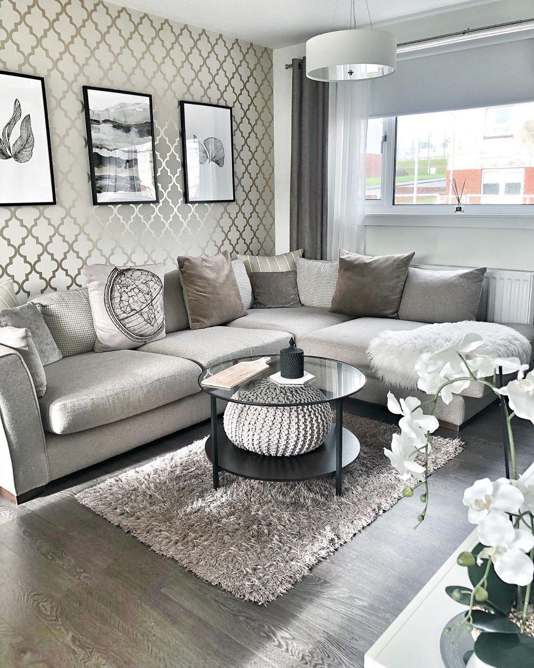 Ideas Bonitas Para Decorar Una Sala Salas Pequenas Y Modernas En 2020 Decorar Salas Diseno De Interiores Salas Decoracion De Interiores Salones